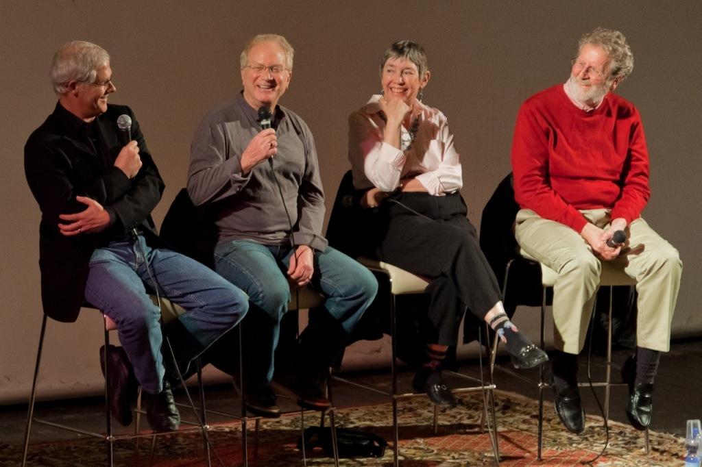 Linda Seger and colleagues at Screenwriting Summit in Las Vegas (2012)